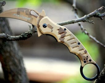 Steampunk Knife Etsy