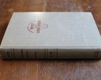 Vintage Cookbook 1952 1st Edition Delectable Desserts Ann Seranne Hardcover Book
