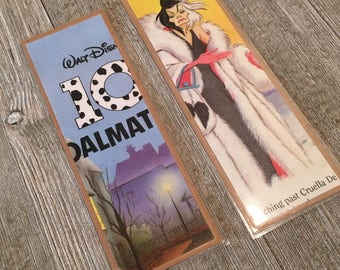 101 Dalmations Disney Vintage Bookpage Bookmarks, Walt Disney, Mickey Mouse