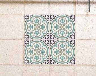 Tile Decals, Kitchen/Bathroom Tiles, Vinyl, Wall Floor Tiles, Kitchen  Decoratiom