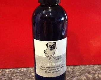End of Summer CLEARANCE Peppermint Lavender Dog Shampoo