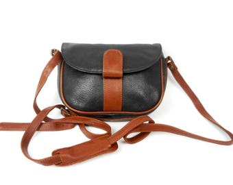 Vintage Leather Shoulder Bag BREE