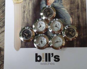Dial, watch, bill's, mini, alone, waterproof, white background