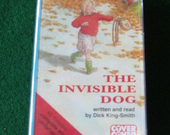 The Invisible Dog: Complete & Unabridged (Cover to Cover) Audio Cassette – Audiobook, 1 Mar 1996 sealed