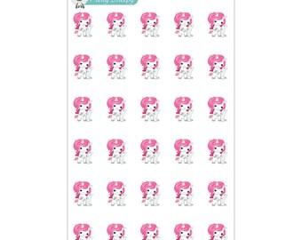 Pay Bills Unicorn Planner Stickers