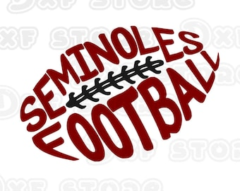 seminoles,Florida State Seminoles,football,college team ,SVG,DXF,PNG for use with Silhouette Studio and Cricut Design Space