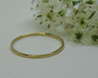 Delicate solid Gold Ring
