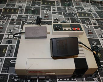 Nintendo Entertainment System - NES Bundle - NES System and Game - Super Mario Bros Duck Hunt