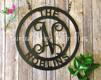 Garden Flag / Patio Decor / Decoration / Yard Sign with Last Name / gift for her / Realtor Gift / Welcome / outdoor decor / mothers day gift