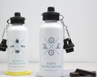 SUMMER SALE Sports Water Bottle- Custom Sports Bottle - Sports Gift - Sports Lover - Drinks Bottle