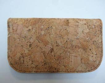 Tobacco pouch made of Cork fabric