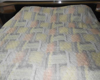 Bedspreads / coverlets 50s pastel