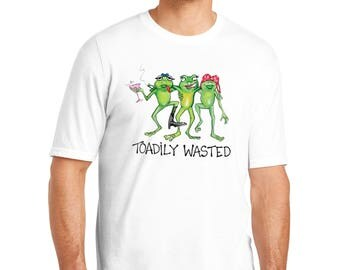Toadily Wasted Color Changing T-Shirt, Toadily Wasted T-Shirt, Toadily Wasted, Color Changing T-Shirt, T-Shirt, Funny T-Shirt, Men's T-Shirt