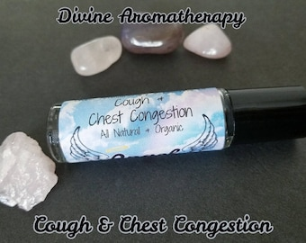 Divine Aromatherapy: Cough and Chest Congestion - Organic Essential Oils