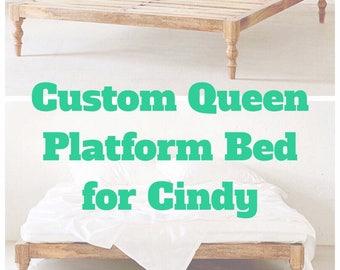 Custom Queen Platform Bed
