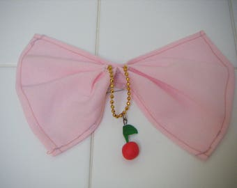 For cherry bow brooch