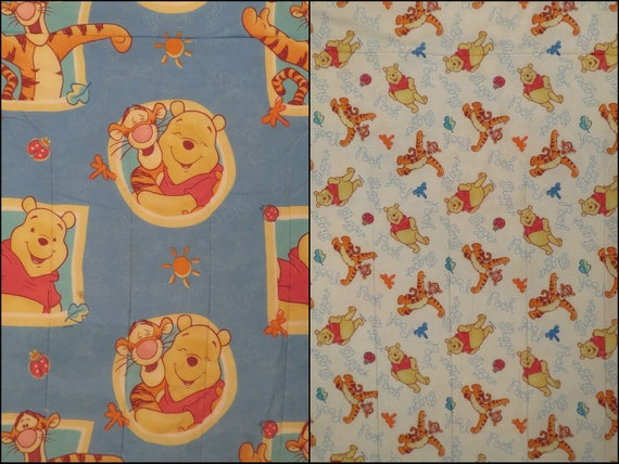 Vintage Winnie the Pooh Twin comforter