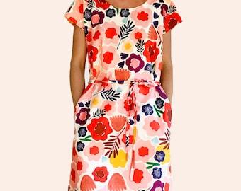 Olive's Garden dress 100% cotton