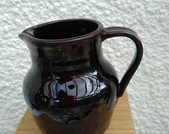 Stoneware Jug in a Chun glaze