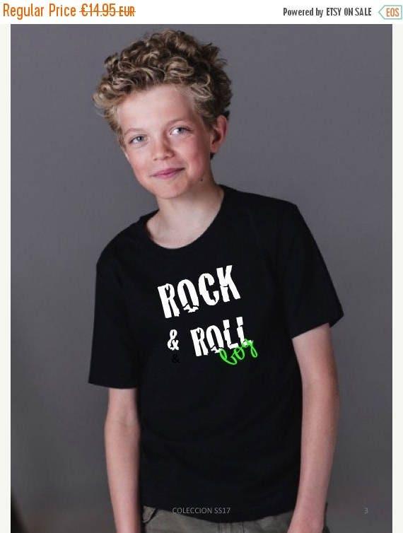 REBAJADO Boy t-shirt ROCK & ROLL Boy