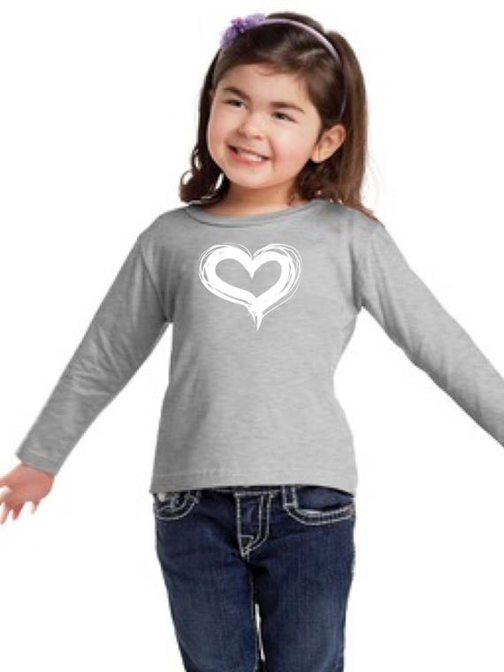 Boy/girl/baby t-shirt HEART