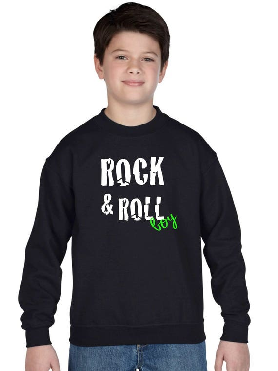Boy sweater ROCK & ROLL BOY