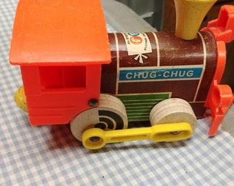 Fisher Price #168 Chug Chug Engine 1964
