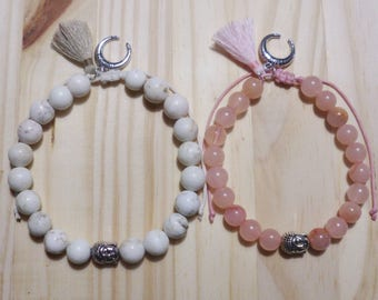 Duo of bracelets for him and her