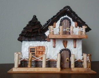 English Cottage fairy house