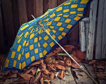 Vintage Umbrella Made in Italy Mid Century 50's