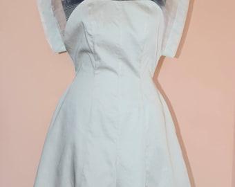 Jumpsuit of silk/jumpsuit of cotton/women jumpsuit of silk and cotton/pantsuit color cream/short women jumpsuit