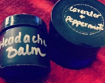 Lavender + Peppermint Headache Balm