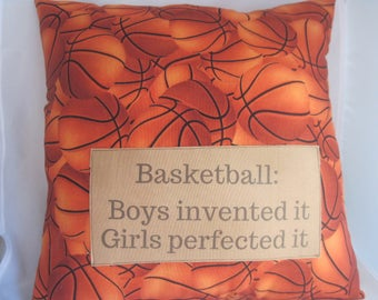 sports party decor, basketball pillow, basketball items, sports quotes, Fall decor, back to school supplies