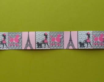 7/8 Grosgrain Ribbon Paris
