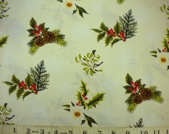 1 YD - In The Beginning/Winter Twist Fabric by Maywood Studio