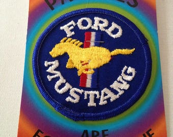 Ford Mustang Patch Rare