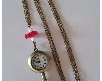 Pocket Watch key 'Frosted my poppy'