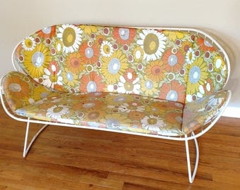 Mid Century Homecrest Patio Loveseat