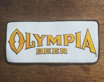 Olympia Beer Back Patch