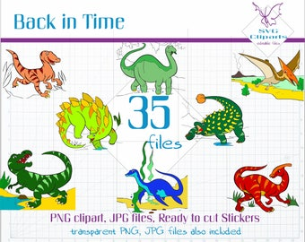 Dinosaur SVG, Dinosaur Clip art, Dino svg, Clipart Commercial Use, SVG files for Cricut, Clipart Digital Download, Clipart Digital Pack, PNG