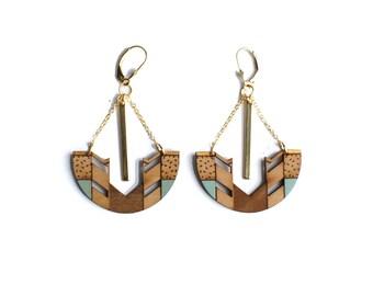 KAYA gold earrings