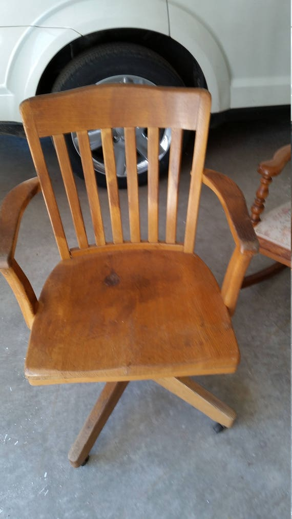 Like this item? - Beautiful Antique Bankers Chair Rollers