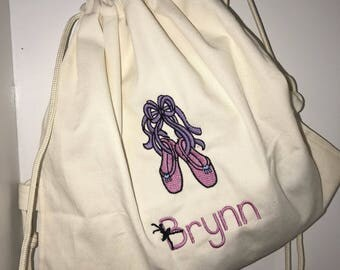 Personalized Dance shoe bag