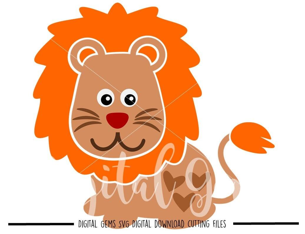 Download Lion svg / dxf / eps / png files. Digital download. Compatible