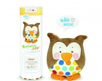 Kullaloo lou Brown OWL plushie Kit