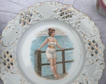 Bathing Girl Dish