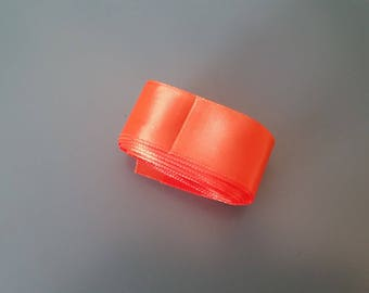 orange satin ribbon 25mm for 2.40 m
