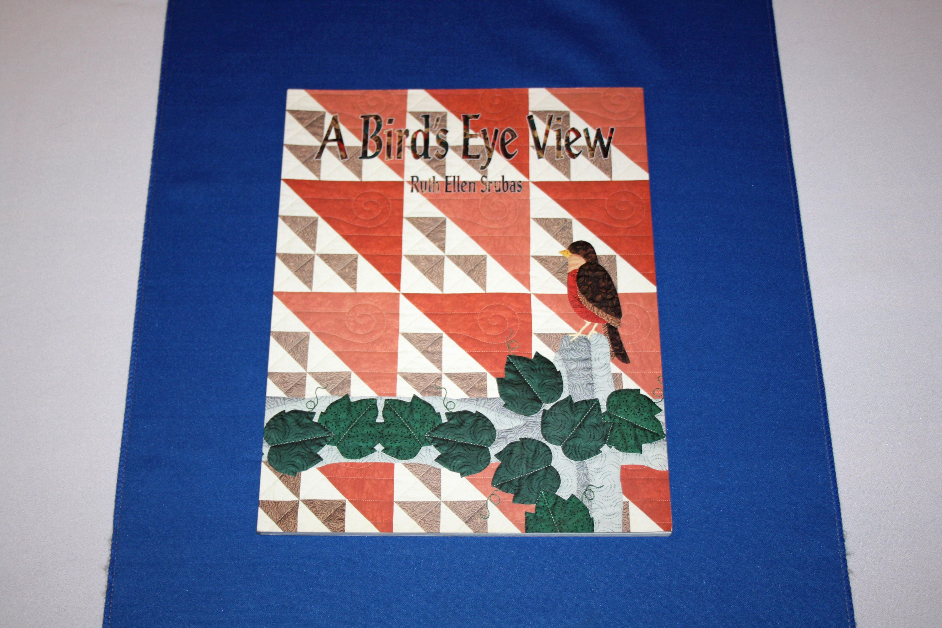 Vintage A Birds Eye View Quilting Pattern Book By Ruth