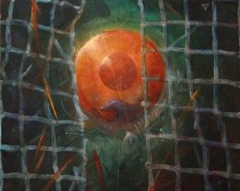 Darko Topalski - Breakthrough - Original painting surreal fantasy artwork