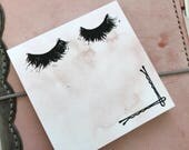 Lashes For Days Sticky Notes